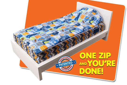 ZipIt Bedding - How It Works - slide 01