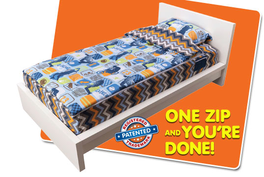 ZipIt Bedding - How It Works - slide 02