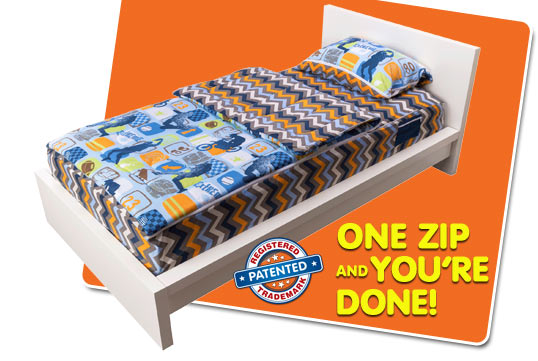 ZipIt Bedding - How It Works - slide 04
