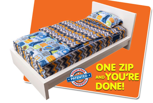ZipIt Bedding - How It Works - slide 05