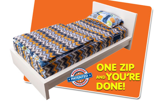 ZipIt Bedding - How It Works - slide 06
