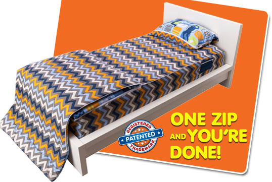 ZipIt Bedding - How It Works - slide 07